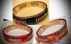 Can you believe this is one single bracelet? Diy Stuff, Easy Diy, Diy Projects, Canning, Bracelets, Home Canning, Bracelet, Arm Bracelets, Bangles