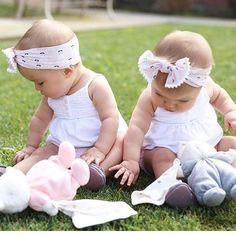 Cute Little Baby, Cute Baby Girl, Little Babies, Cute Babies, Twin Girls, Twin Babies, Twins, Tatum And Oakley, Black Kids Fashion