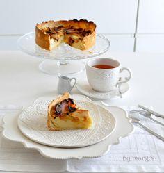 Tarta de manzana con mascarpone