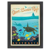 Found it at Temple & Webster - Great Barrier Reef Print