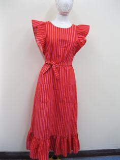 Marimekko Striped Maxi Dress Suomi-Finland, SZ 36\8 | eBay