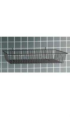 """Black Mini-Grid Baskets - 24"""" x 12"""" x 4"""""""