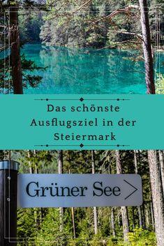 Ausflugstipp für Natur Liebhaber: Grüner See in der Steiermark, Österreich !Meine Tipps & Empfehlungen + weitere tolle Reise Inspirationen für deinen nächsten Urlaub! Travel Advice, Travel Tips, Travel Destinations, Beautiful Homes, Beautiful Places, Heart Of Europe, Austria, Sustainability, How To Get