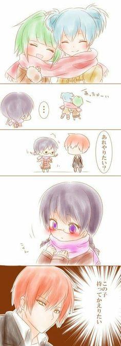 Nagisa and Kayano are doing so well...How about Karma and Okuda? (o_o)?