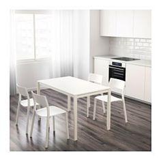 IKEA - MELLTORP, Tisch, Die melaminbeschichtete Tischplatte ist…
