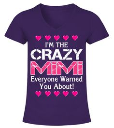 "# I'm the crazy MiMi (1 DAY LEFT ) .   =>CLICK HERE FOR GRANDKIDS "" I HAVE A CRAZY MIMI  ! ""• NANA • MIMI • AUNTIE • AUNT • GRAMS  • GRANDMA • GRANNY • GRAMMY • GAMMY • GRAMMIE  • GAMMA • GLAMMA • GIGI • G-MA • GAGA  • MEME • MEMAW • MAMAW • MAWMAW  • MOMMOM • MEMA • MOMMY  • NANNA • NANNY • NONNIE • NAN • NANNIE  • OMA • OMI • YAYA • NONNA  • PAPA • GRANDPA • DADDY • FATHER   Need different title ? Click here to visit store !  Special Offer, not available anywhere else!Available in a…"