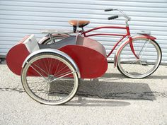 bicycle with side car