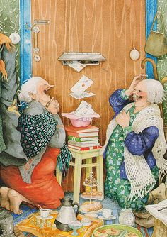 Inge Löök Illustrations Finland