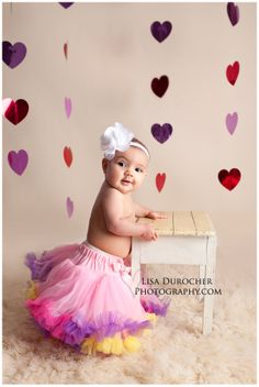 Baby Girl Photo Session,  Valentines Day Photo Session Niagara Falls Children Photographer, Lisa Durocher Photography