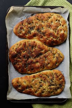Za'atar Flatbread   The Sugar Hit - looks fab! and sounds easy enough!