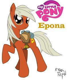 Epona as a Little Pony