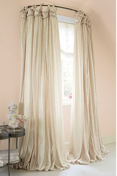 I just died and went to drapery heaven!  Balloon Drapery Panel - Window Coverings, Home Decor | Soft Surroundings