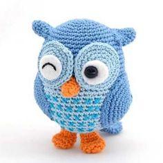 Jip the Owl amigurumi pattern