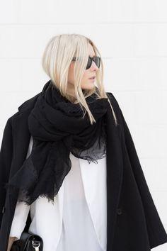 black scarf | figtny
