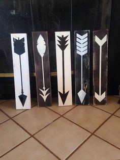 Rustic Decorative Arrow Signs by WondersbyWood on Etsy