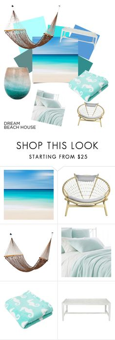 """""""take me to the beach"""" by harmonizrr ❤ liked on Polyvore featuring interior, interiors, interior design, home, home decor, interior decorating, Pine Cone Hill, Nico, beautiful and beach"""