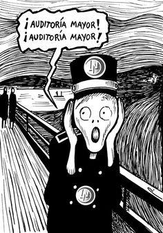 """""""El gritón"""" Cartón de Perujo #LoteríaNacional #cartones #humor #México"""