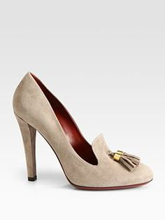 e574f58ab3fdb7 (i would never pay this much but these) Gucci - Mischa Suede Double Tassel