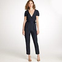 I've never tried on a jumpsuit, but I've always wanted to try one for shooting weddings. Hm....