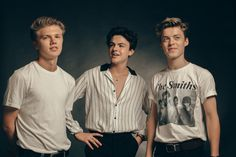 Quick fire catch up with New Hope Club, the British pop trio formed of Blake Richardson, George Smith and Reece Bibby, signed to The Vamps' record label. New Hope Club, A New Hope, Cute Animal Quotes, Blake Richardson, Reece Bibby, Grunge Boy, Disney Music, British Boys, Our Friendship