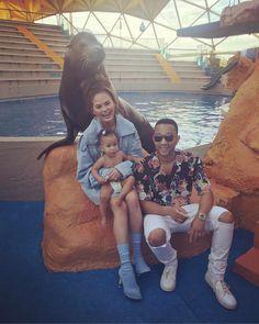 Chrissy Teigen, John Legend and Baby Luna