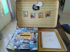valise boîte sous voyage mariage