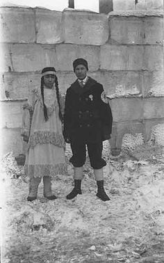Cherokee Heights queen, St. Paul Winter Carnival, 1917