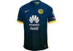 Available at www.soccerpro.com. Nike Club America Away Jersey 2015-2016