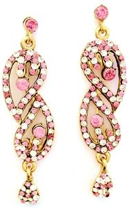 Stunning Bollywood Zhara Earrings-- what's better than a bit of Bollywood bling for the ears?