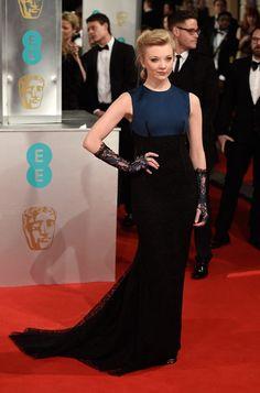 La alfombra roja de los Premios BAFTA 2015 NATALIE DORMER