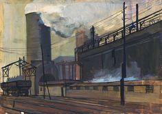 Industrial Landscape - Esmont M. 1963.