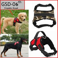 Big Dog Soft Adjustable Harness Pet Large Dog Walk Out Harness Vest Collar Hand Strap for Small and Large Dogs Pitbulls Big Dogs, Large Dogs, Interesting Animals, Dog Collars & Leashes, Small Breed, Working Dogs, Dog Harness, Pet Store, Dog Walking