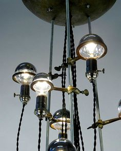 T.O.M.T. punch bowl ceiling fixture