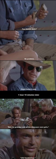 Funny pictures about Jurassic Park subtle foreshadowing. Oh, and cool pics about Jurassic Park subtle foreshadowing. Also, Jurassic Park subtle foreshadowing photos. Jurassic World 2015, Jurassic Park Series, Jurassic Park Funny, Jurassic Movies, Funny Memes, Jokes, Great Movies, T Rex, I Laughed