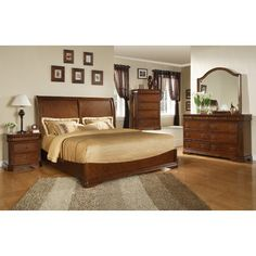 Sleigh Customizable Bedroom Set - http://delanico.com/bedroom-sets/sleigh-customizable-bedroom-set-557660741/
