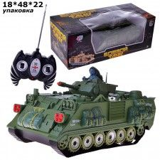 Боевой танк 9355 р/у, на аккумуляторах, зарядное, в коробке
