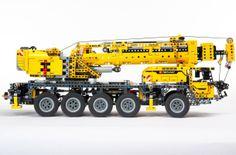 Lego Technic Mobile Crane (my favorite set I have! Lego Truck, Toy Trucks, Lego Technic, Legos, Lego Crane, Mobiles, Lego Studios, Lego Machines, Lego System