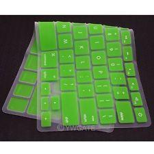 "NEW GREEN Keyboard Silicone Cover Skin For Apple MacBook MAC Air 13"" 13.3 inch"
