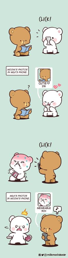 Polar Bear Cartoon, Cute Bunny Cartoon, Cute Couple Cartoon, Cute Bear Drawings, Cute Little Drawings, Cute Kawaii Drawings, Cute Panda Wallpaper, Bear Wallpaper, Cute Cartoon Wallpapers