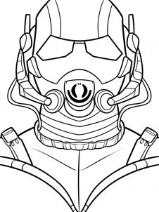 10 Printable Ant Man Coloring Pages For Toddlers Ant Man
