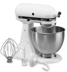 As Low As $105.75 For KitchenAid Classic Plus 4.5-qt. Stand Mixer (Reg $349.99) - http://www.rakinginthesavings.com/as-low-as-105-75-for-kitchenaid-classic-plus-4-5-qt-stand-mixer-reg-349-99/