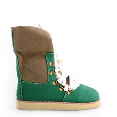 GHETUTE INALTE GREEN  119,0 LEI Ugg Boots, Uggs, Green, Shoes, Fashion, Moda, Zapatos, Shoes Outlet, Fashion Styles