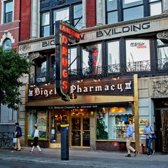 C.O. Bigelow, a small drugstore in the West Village in Manhattan, opened in 1838 and is said to have been favored by Mark Twain and Thomas Edison.