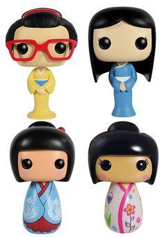 Funko POP Asia Omamori Dolls Set - Toy Tokyo