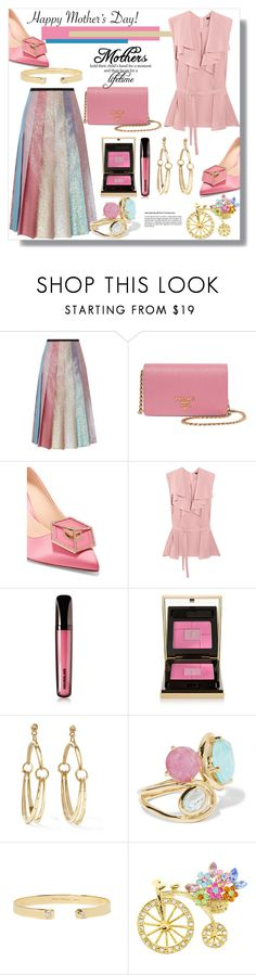 """""""Happy Mother's Day!"""" by helenaymangual ❤ liked on Polyvore featuring Gucci, Prada, Nicholas Kirkwood, Etro, Hourglass Cosmetics, Yves Saint Laurent, Chloé, Ippolita and Jemma Wynne"""