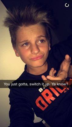 YOU JUST GOTTA SWITCH IT UP YA KNOW ? <3