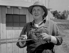 Grampa McCoy from The Real McCoys  Remember how he always pumped his arms@Beth Cahill