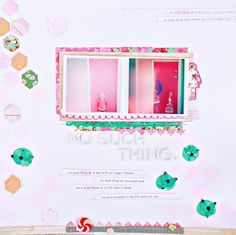 """Really loved this layout - especially the """"no such thing"""" journaling."""