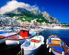 a #travelcolorfully boat ride is mandatory. (capri)