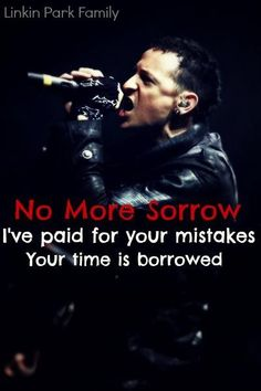 No more sorrow - Linkin Park